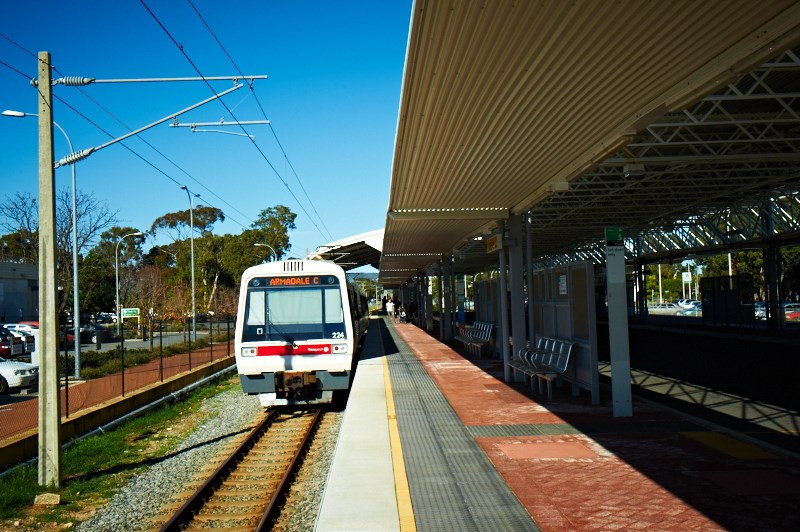 Champion Lakes Armadale Train