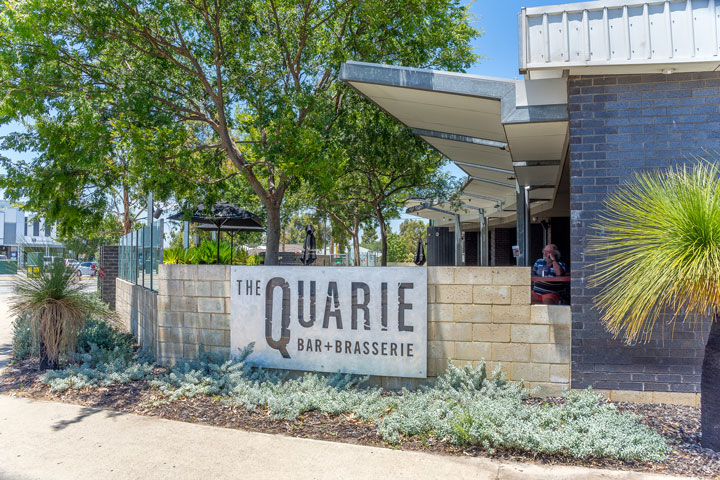 The Quarie Bar + Brasserie