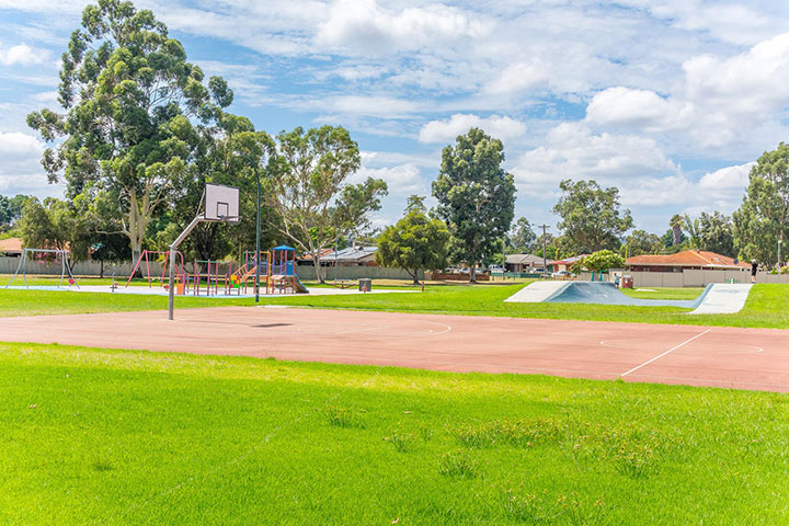 Parkview Estate Armadale nearby to local park