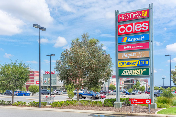 Haynes Shopping Centre Parkview Estate Armadale