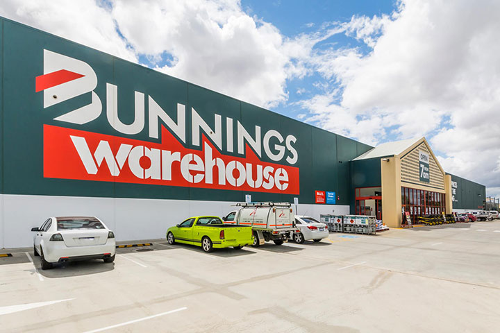 Bunnings Warehouse near Tarling Place Maddington
