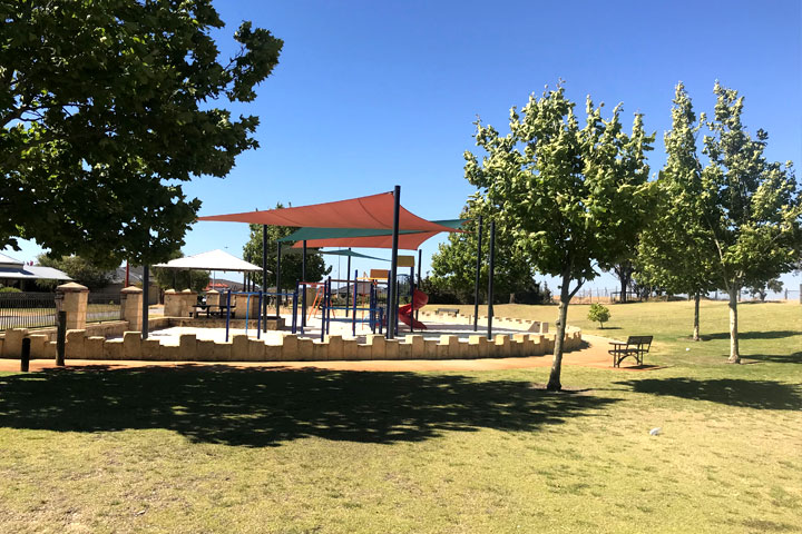 The rise at Darch playground