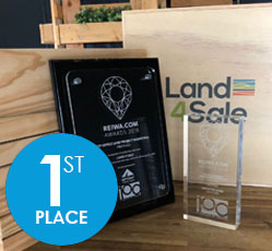 Perth's Top Land Agency for 2018!